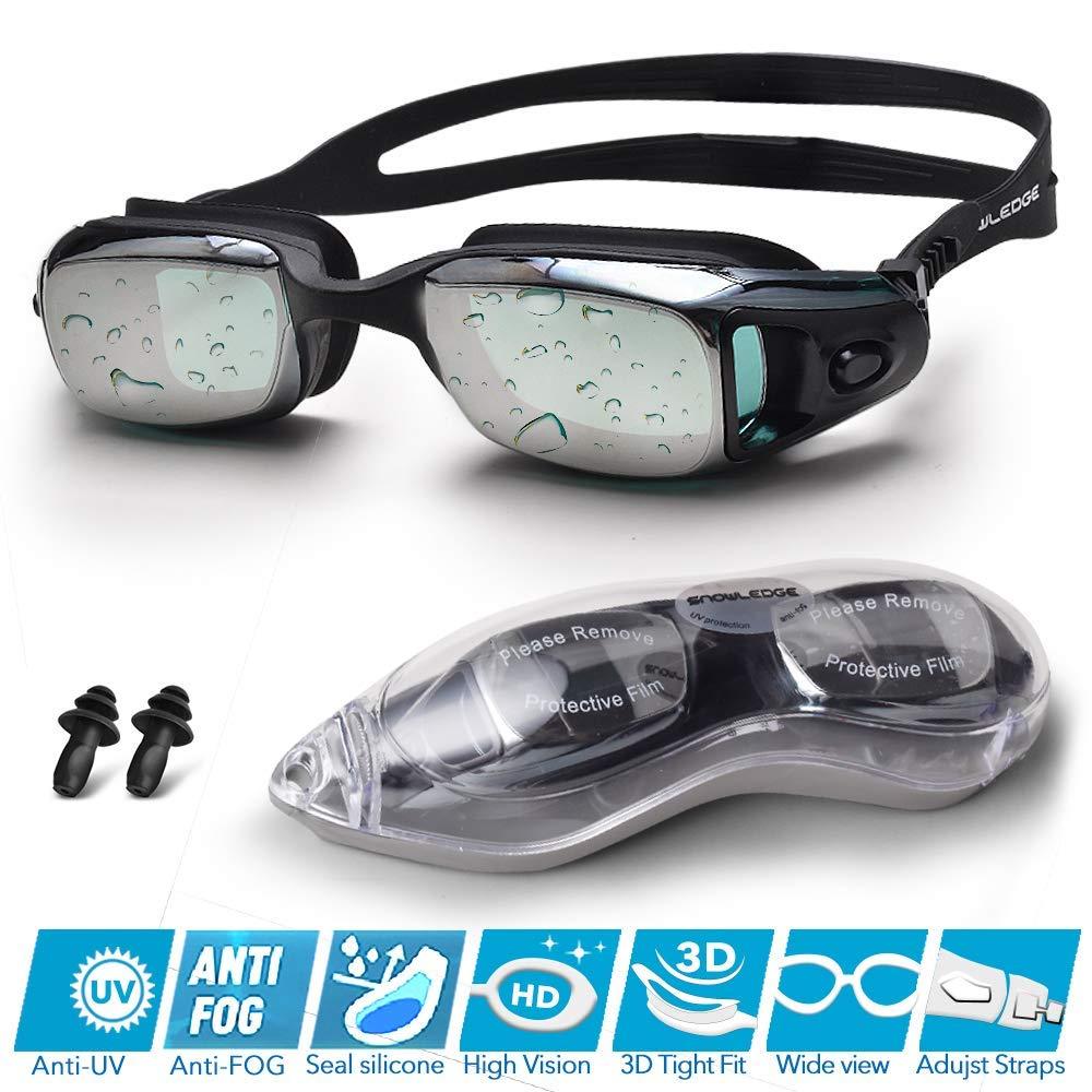 Silicone Swimming Goggles Waterproof Swimming Glasses Anti Fog Mirror XA Weiterer Wassersport Schwimmen