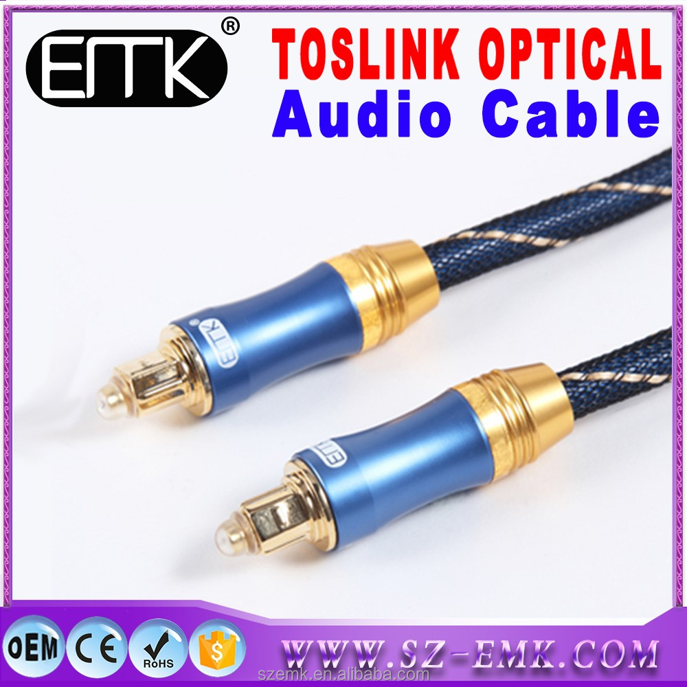optical toslink audio cable used for hifi audio 2.1 5.1 ch 7.1 wireless home theater surround sound music system