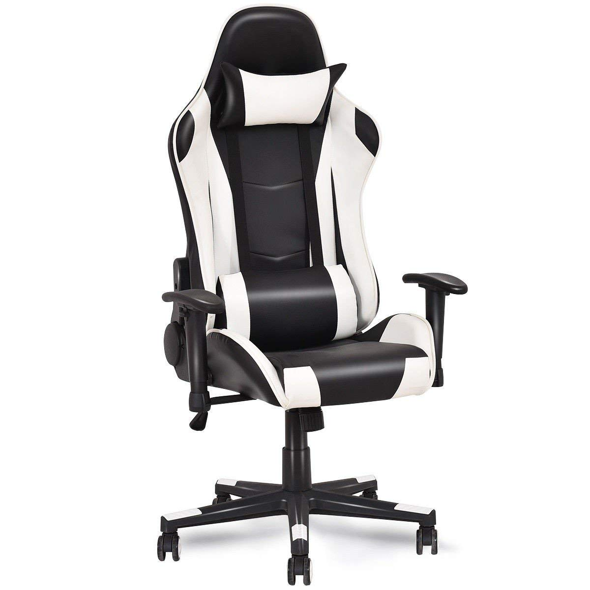 Svitlife Racing Style High Back Gaming Chair Back Racing Office Swivel Computer Style