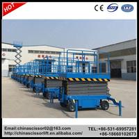 Vertical hydraulic platform cart, Scissor Lifting Cart