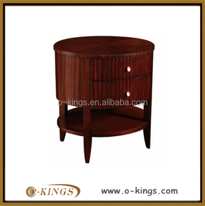 hote solid wood round cabinet/ teak wood cabinet