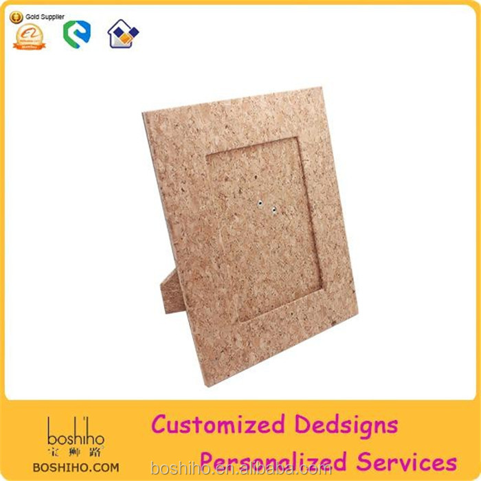 Best sell Natural Cork Wood Photo Frame Picture Frame