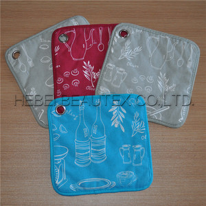 high quality printed cheap kitchen single pot holder