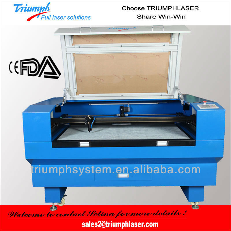 New 80W CO2 Laser Engraver Cutting Machine 1300mmx900mm+DSP,FREE HONEYCOMB BED