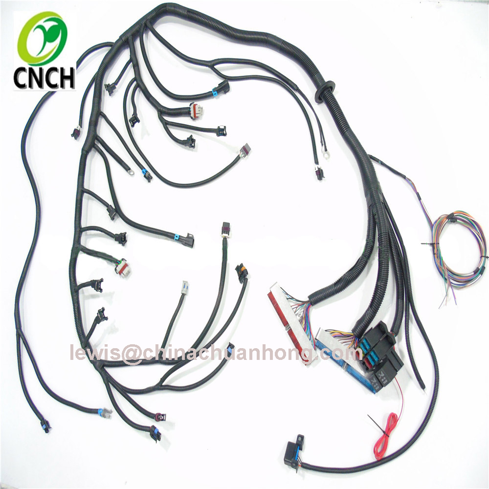 CNCH 1999-2003 DBC LS/VORTEC Standalone Wiring Harness with TH350 TH400 on safety harness, engine harness, oxygen sensor extension harness, alpine stereo harness, fall protection harness, dog harness, pet harness, radio harness, battery harness, nakamichi harness, amp bypass harness, cable harness, maxi-seal harness, obd0 to obd1 conversion harness, electrical harness, suspension harness, pony harness,