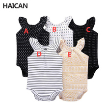 Direct factory price Carter short-sleeved Siamese sweater cotton baby clothes triangle jumpsuit baby clothes baby boys clothes