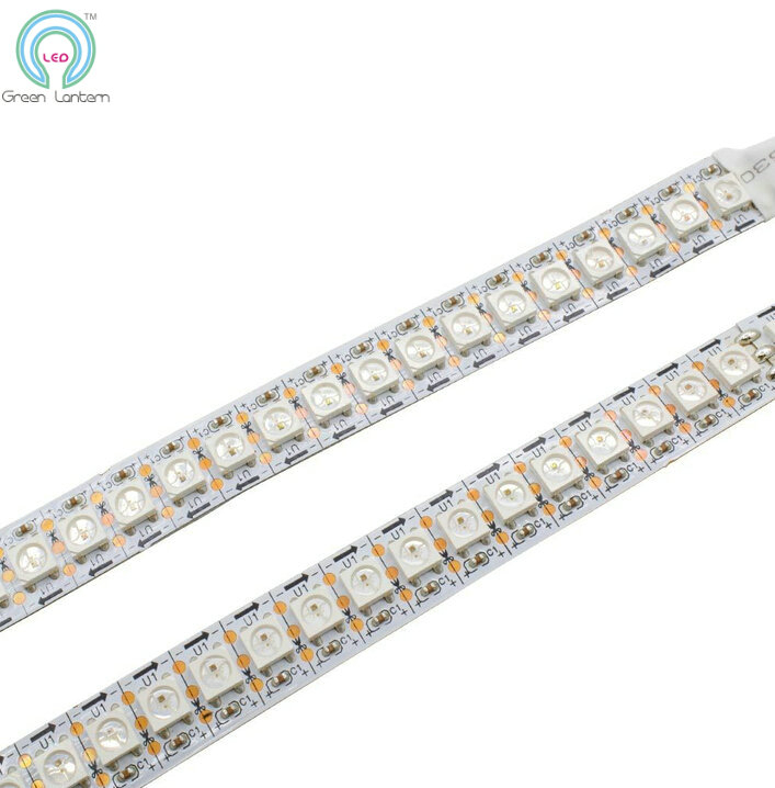 addressable flex led strips ws2812b 144 leds/m 5050 DC5V digital <strong>RGB</strong> WS2812B addressable led strip