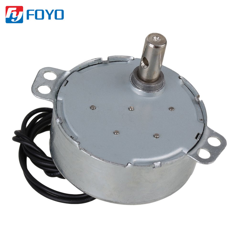 AC220V TYC Permanent Magnet Synchronous Motor Speed Reduction Gear Motor CW//CCW