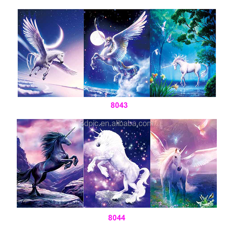 Hologram 3D Custom Photo of Animals 3D Moving Picture