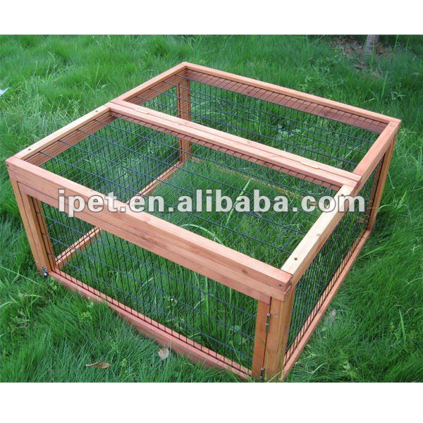 Outdoor Cheap Wooden Hamster Cage Rabbit House RU008