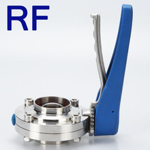 RF Higienis Manual Butterfly L Valve