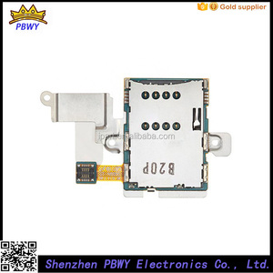 Factory Price Sim Flex Cable For Samsung N8000 Sim Reader Slot Holder Flex, For Samsung N8000 Sim Card Reader Flex Cable