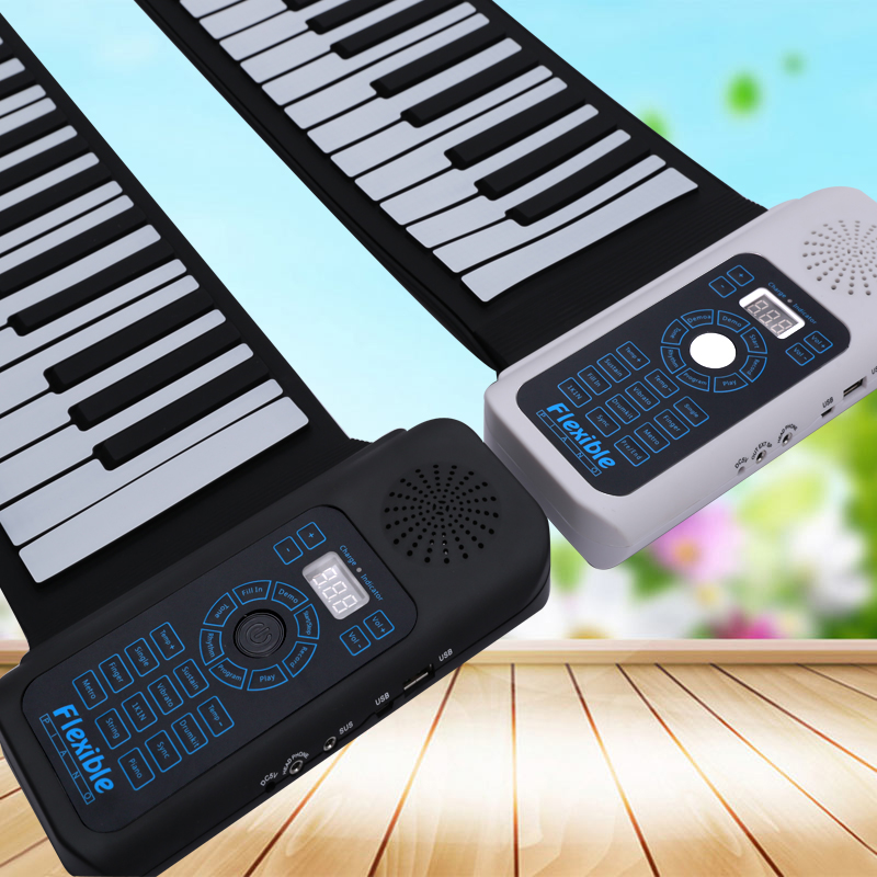Bora foldable piano keyboard china victory roll up folding piano keyboard