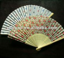 lady decorative bomboo hand fans