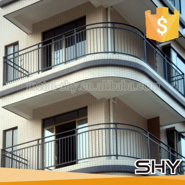 Wall Railings Designs picturesque double chrome handrail with glass balustrade and landing glass stairs in modern open plan interior Iron Balcony Railings Designs Iron Balcony Railings Designs Suppliers And Manufacturers At Alibabacom