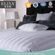 ELIYA factory made hotel bedding sheet set cotton bed linen white sateen