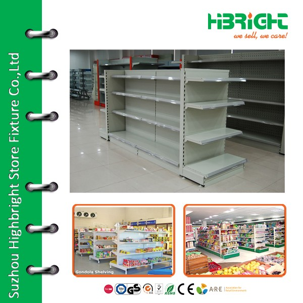 usefully design shop shelves for supermarket display