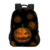 Promotion Wholesale Holloween 3D Printed Polyester Teenage School Backpack With Laptop Compartment