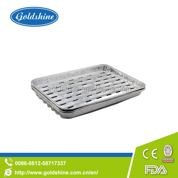 Aluminium Foil Container (Rectangle,BBQ)