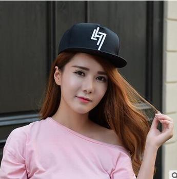 491714eb569 Popular rapper Embroidering Baseball Cap Hat Cap Black white Snapback Hip  Hop Streetwear Strapback Sun Hat