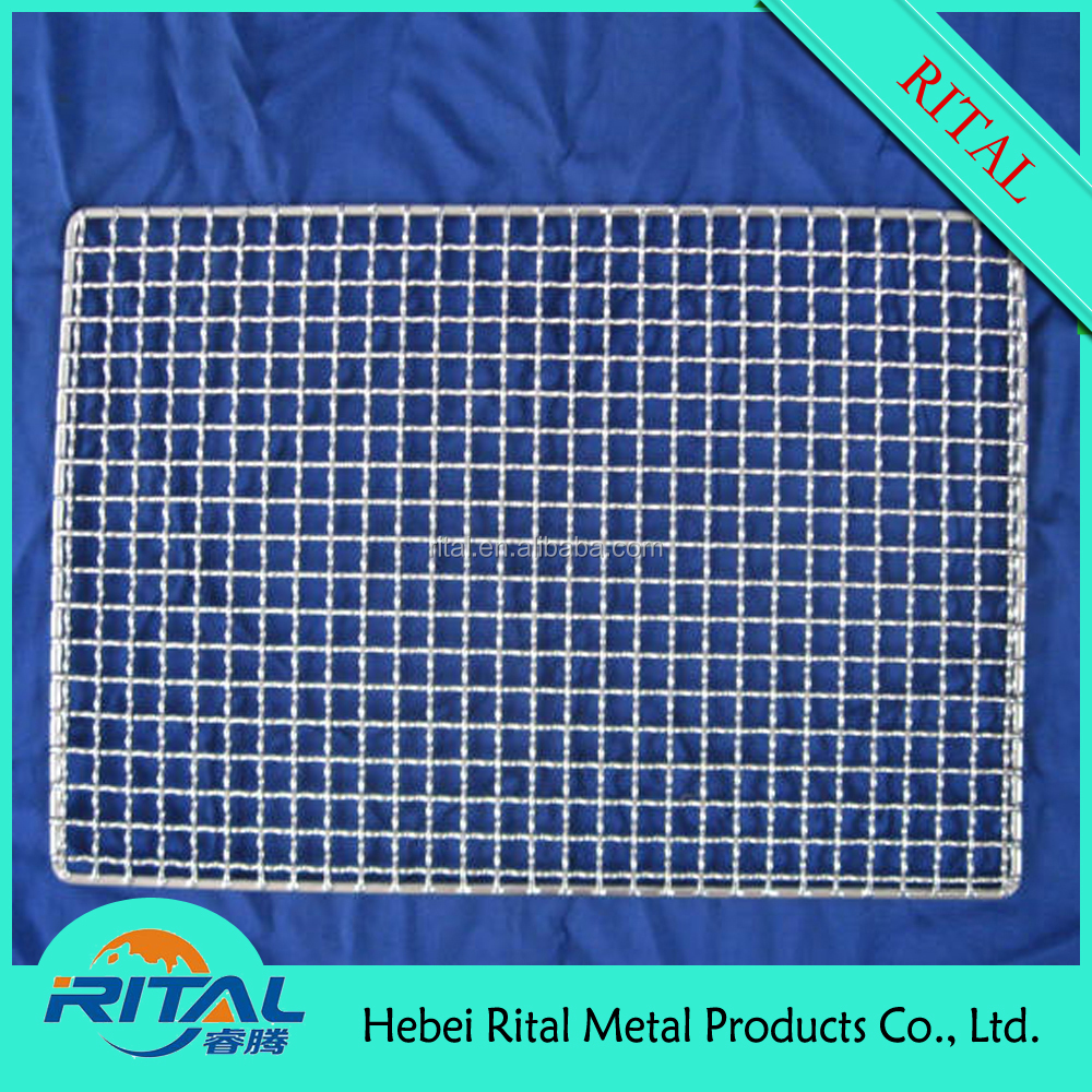 Rectangular Disposable Wire Mesh Bbq Grill Grates - Buy Wire Mesh ...
