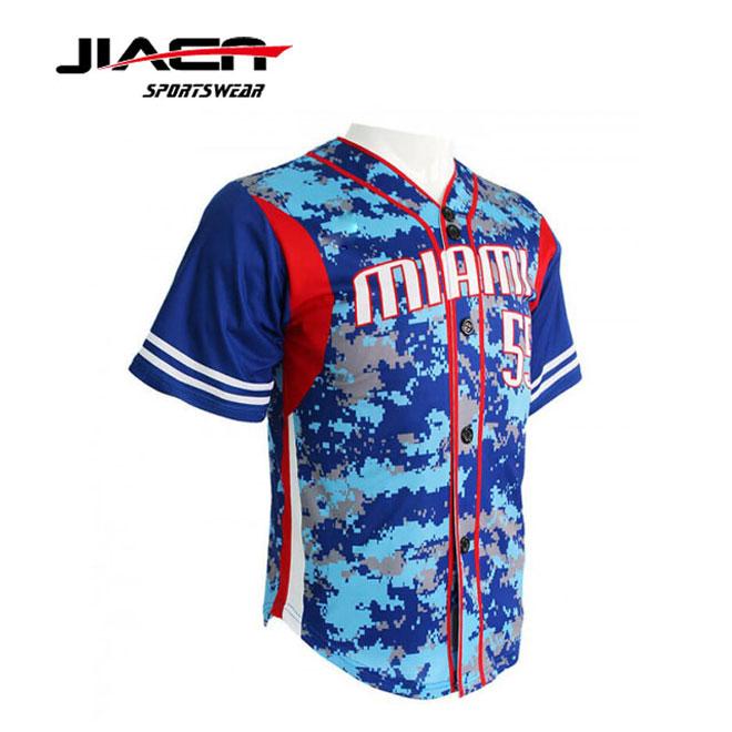 45e49e544fa 2018 custom camo baseball jerseys custom stripe baseball jersey custom dye  sublimation baseball jersey