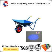 cheap electrostatic spraying powder coating for wheel barrel in building site