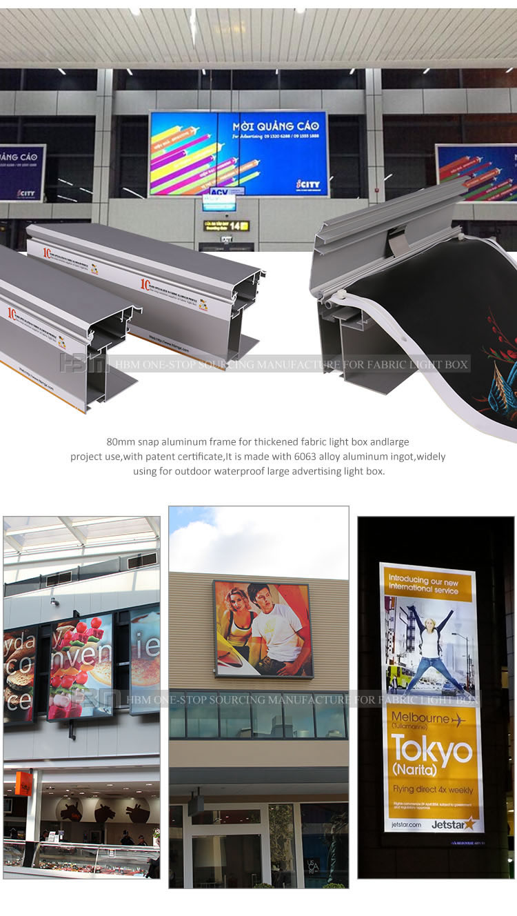 waterproof led light strip outdoor fabric waterproof advertising led billboard stand advertising boards for sale