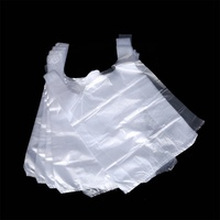 Good quality super market garbage nonwoven t-shirt bag