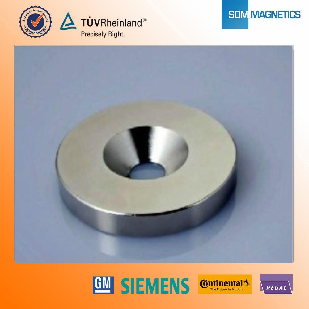 neodym runde magnet mit loch magnetische materialien produkt id 60497578714. Black Bedroom Furniture Sets. Home Design Ideas