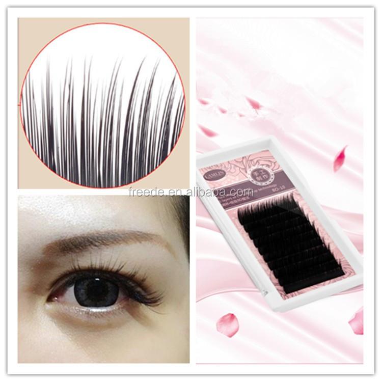 Bella Camellia Mix Length 3d Lashes Eyelash Extension Wholesale