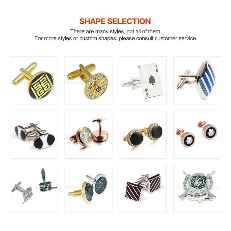 Diy Manufacture Laser Engraving Ribbon Knot Cufflink With Clasps