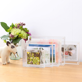 clear 2019 new style acrylic sandwich photo frame