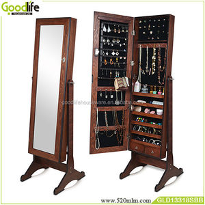 Hot wooden jewelry cabinet reproduction antiques