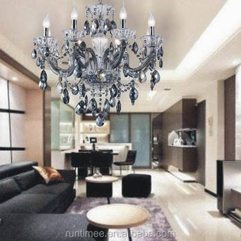 Luxury Living Room Crystal Bending Pipe Chandelier Light Model RT3040 8