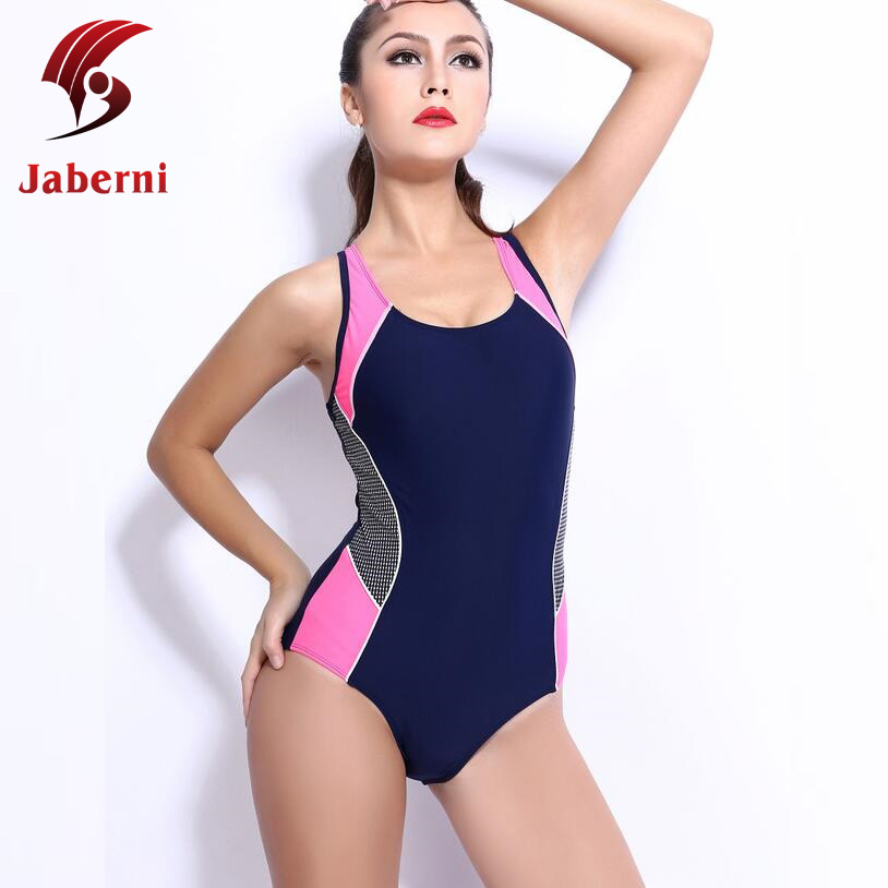 ade02e5ef1f Plus Size 4XL Professional Swimsuit Competition Bathing Suit Swim Train  Swimwear Sexy Race One Piece School Sport Women Monokini