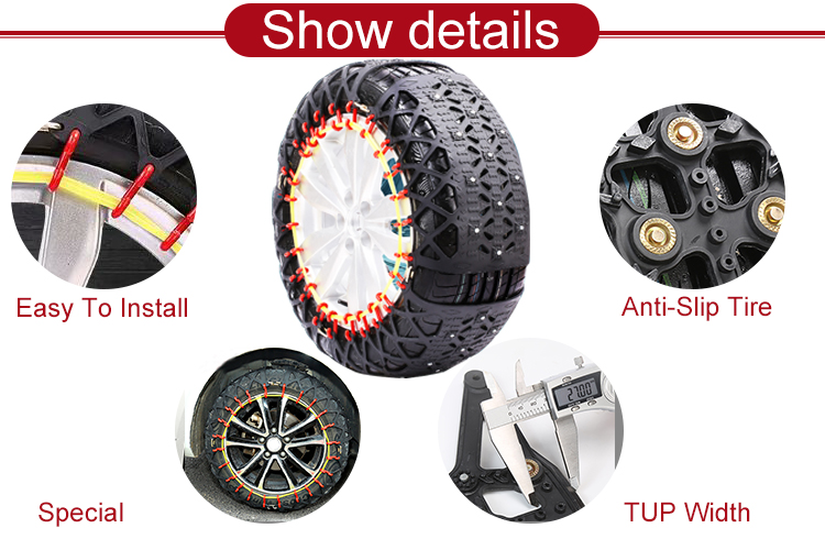 China Supper Wear-Resisting Tyre Protection Snow Chain