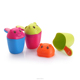 baby shampoo cup,plastic baby bath scoop,shampoo rinser for baby