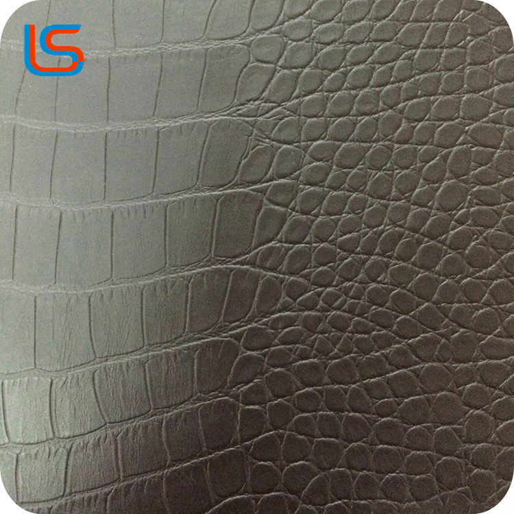 Classical Imitation alligator PU leather for handbag pu sofa leather artificial pu leather