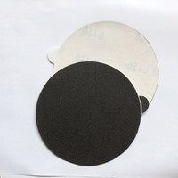 Silicon carbide waterproof self-adhesive abrasive sanding disk