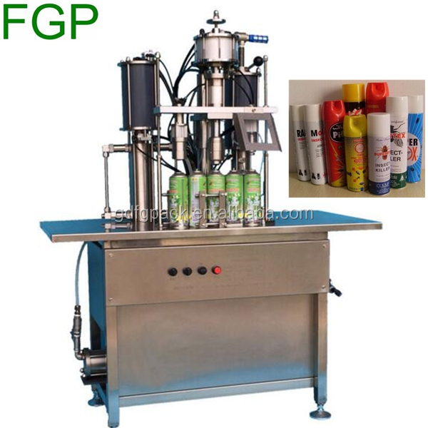 Semi-automatic aerosol gas filling machine,aerosol deodorant filling machine
