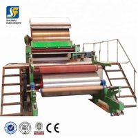 industry leader toilet tissue paper making machine/ small toilet paper production line
