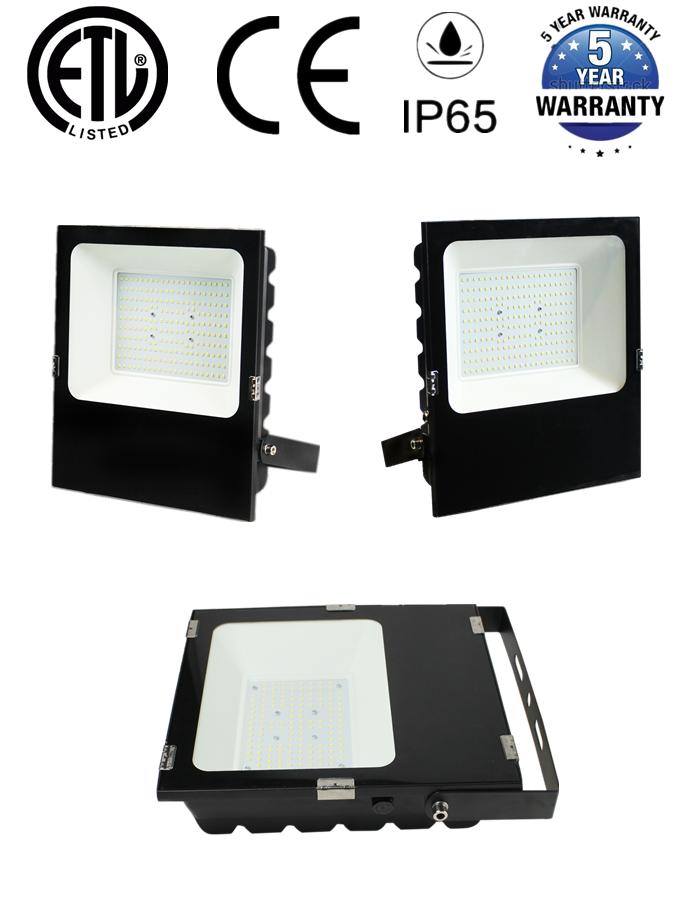 IP66 Shenzhen 5 YEARS WARRANTY outdoor floodlight 50w 100w 150w 200w 240w 300w LED Flood Light