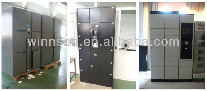 Electronic Smart Storage Doors Locker For Food Collection