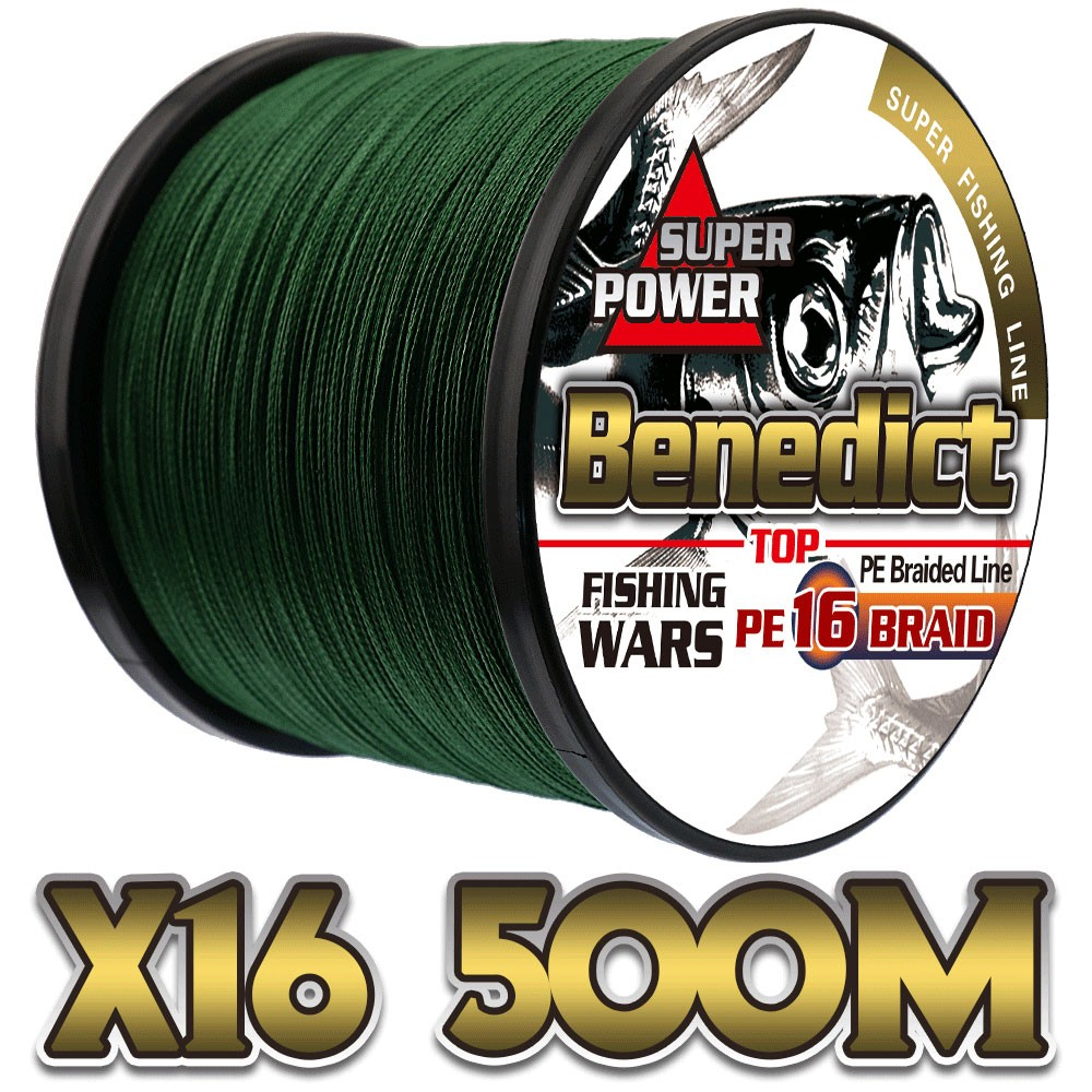 500M 16 strands hot sale PE braided fishing line super strength 20-500LB line fishing tackle, Red;blue;yellow;green;white;gray;pink