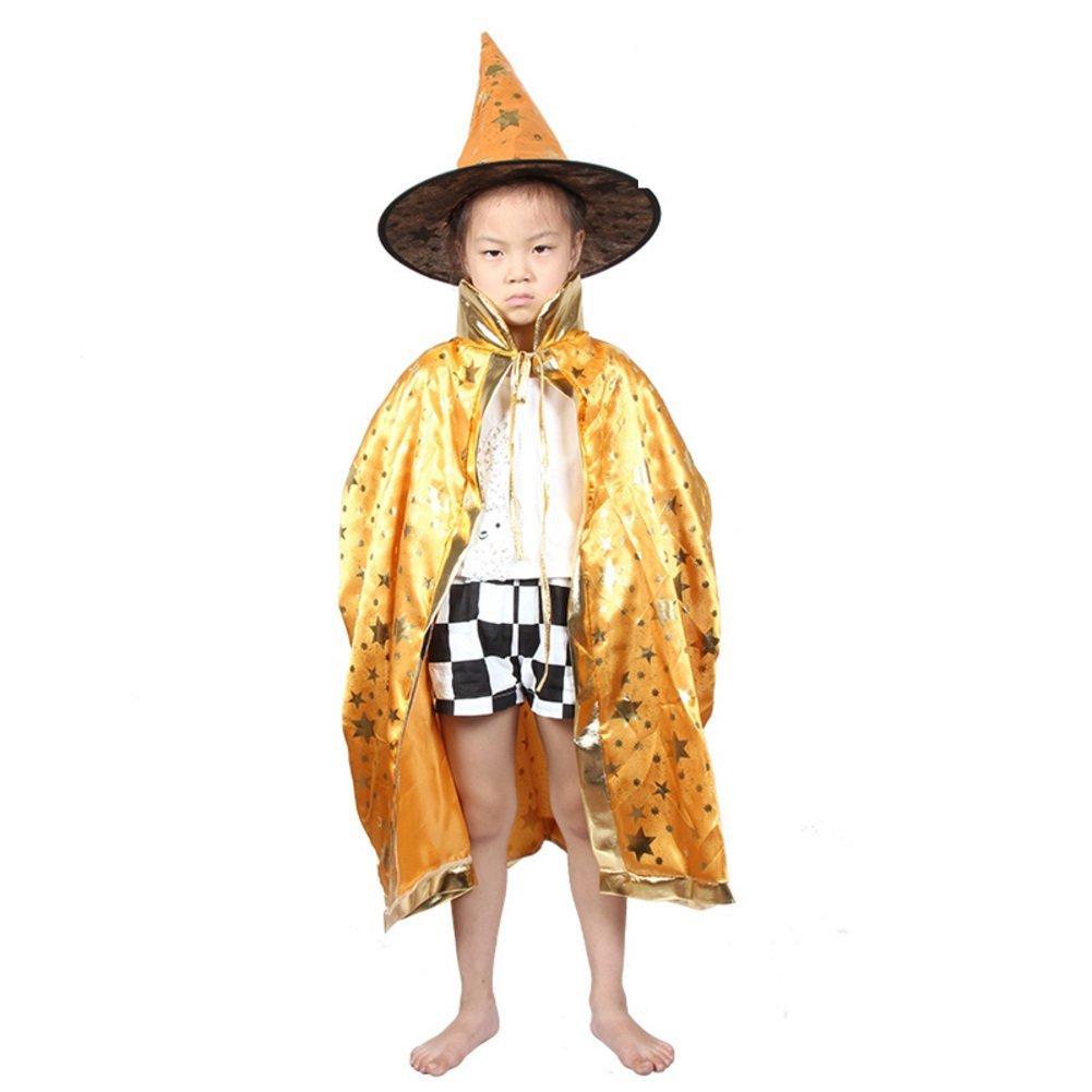 Halloween Cloak/children's clothing/Magician cloak/Child witch/Cloak cloak cap-C
