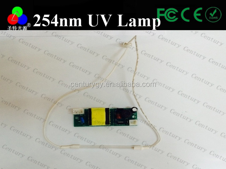 Finely processed offer uv lamp transformers 254nm uv tube for checking money uv led 365nm