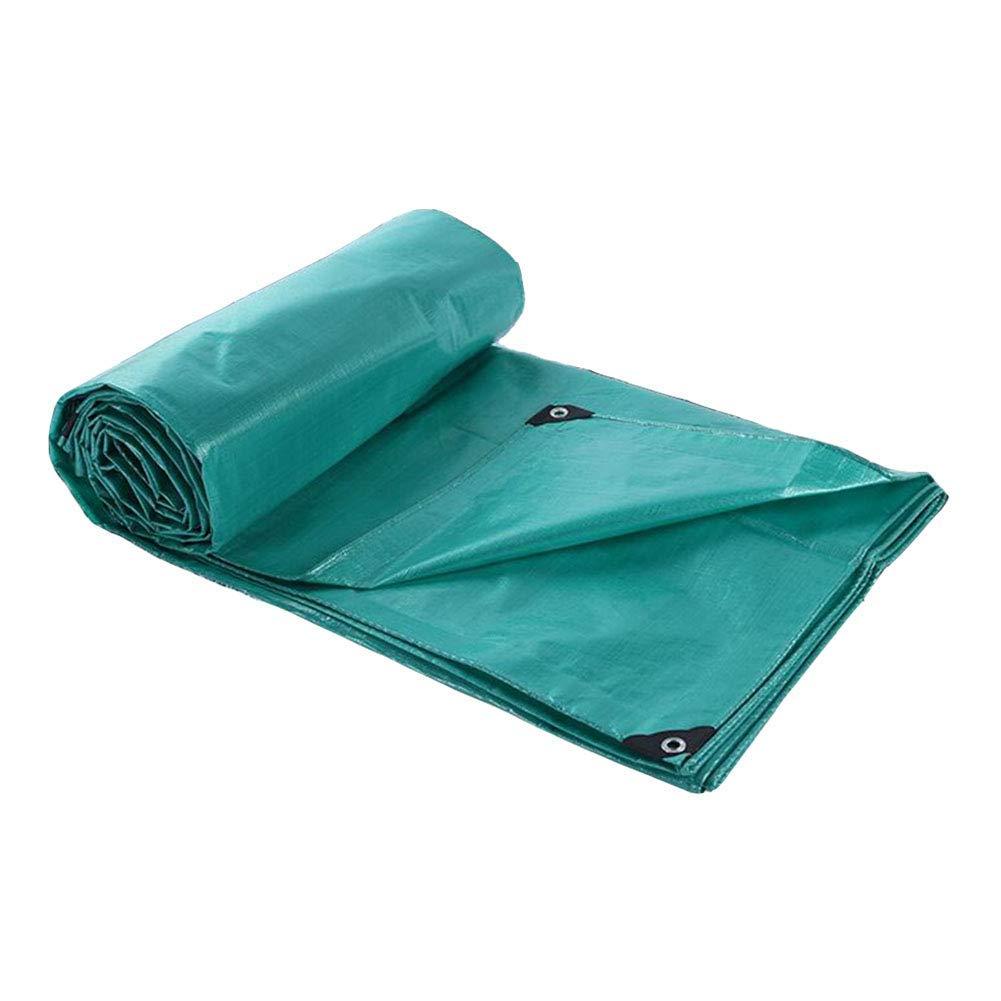 Dall Tarpaulin Tarpaulin Waterproof Cloth Double-Sided Waterproof Anti-UV Sun Protection Durable Multifunction Shade Cloth Thickness 0.25mm, 200g/m2 (Size : 22m)
