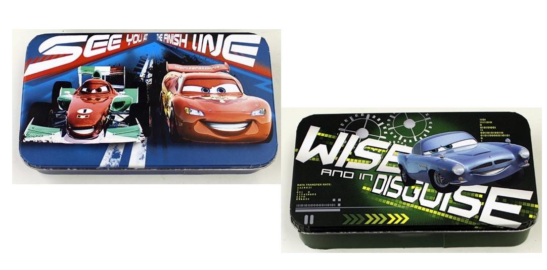 Disney Cars Storage Box/Pencil Box Bundle: 2 item - 1 Each Style