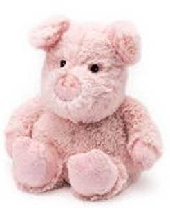 PIG - WARMIES Cozy Plush Heatable Lavender Scented Stuffed Animal